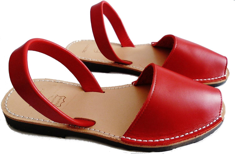 Sandali di Minorca autentici, vari colori, avarcas menorquinasRojo box
