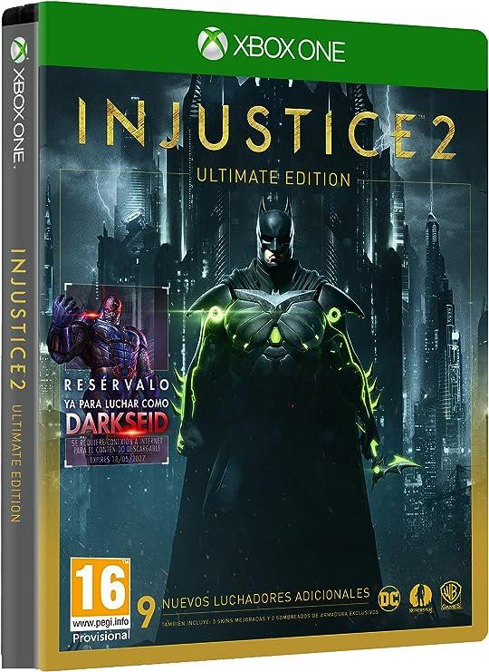 Injustice 2 - Ultimate Edition: Amazon.es: Videojuegos
