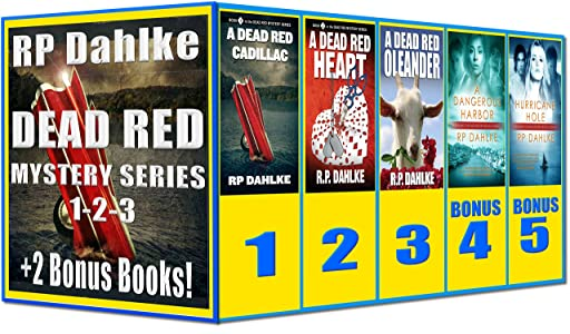 Boxed Set-3 Dead Red Mysteries Plus 2 Bonus Books: 1st three in the Dead Red Mystery Series, plus book 1 and 2 of Pilgrim's Progress