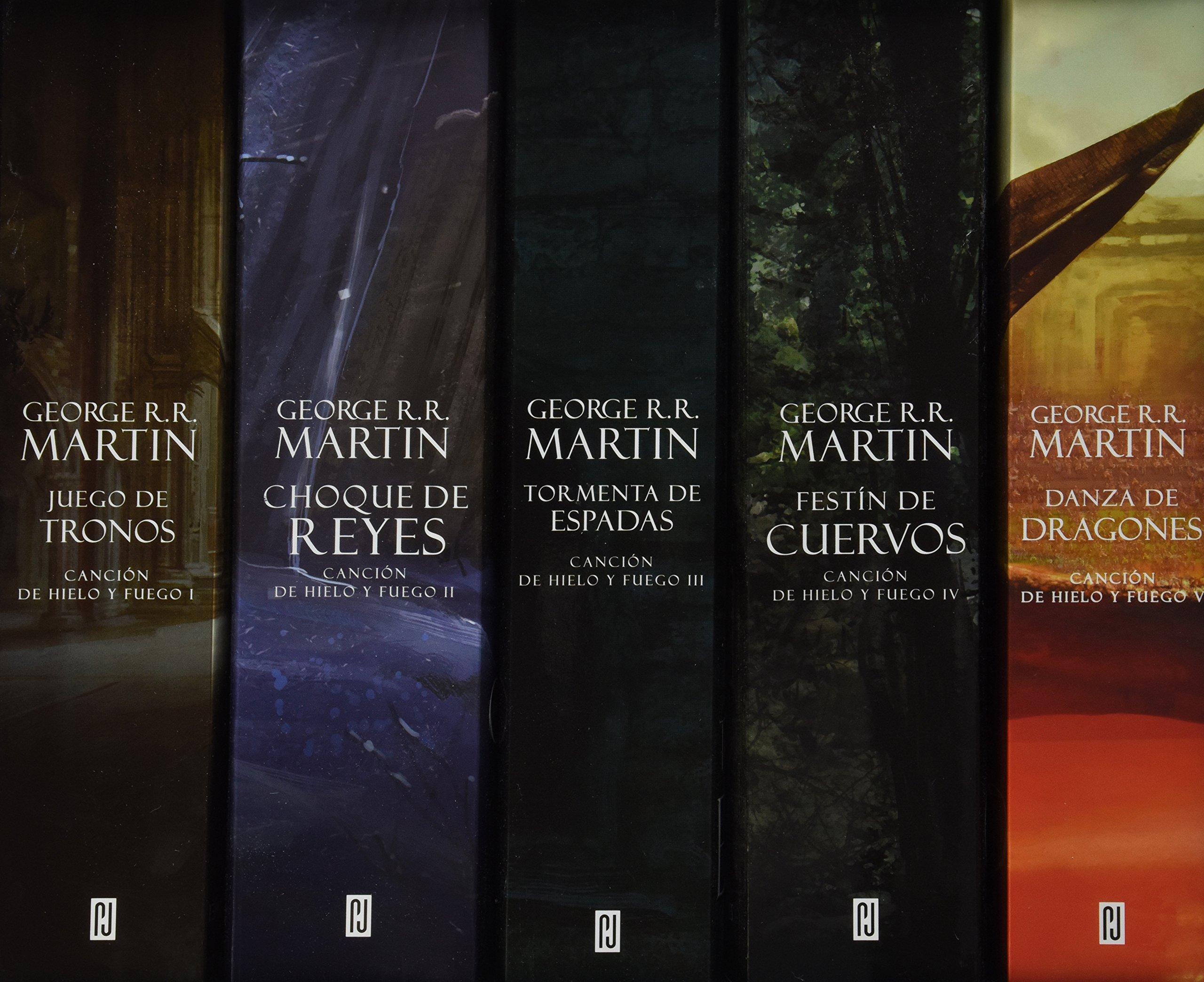 Paquete Juego de Tronos 5 Tomos: George R. R. Martin: Amazon.com.mx ...