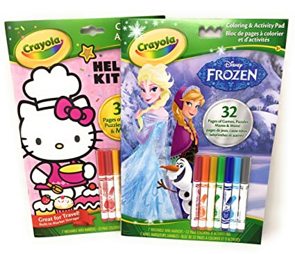 Amazon.com: Practical Toy Solutions Crayola Coloring Book and ...