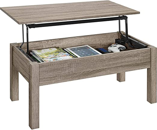 Amazon Com Innovative Lift Top Coffee Table Offers Extending