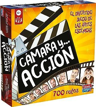 Oferta amazon: Falomir- Camara y Acción Juego de Mesa, Multicolor (25008)