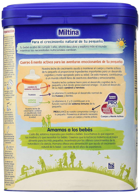 MILTINA 3 PROBALANCE, leche de crecimiento a partir de los ...