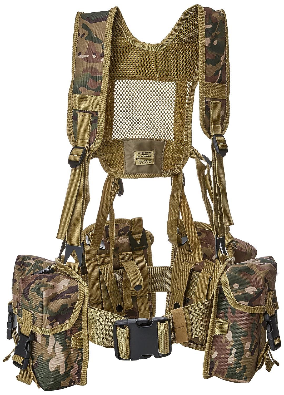 Highlander British Army HMTC Camouflage Webbing PLCE Yoke System Vest