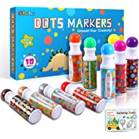 Dot Markers Kit, Ohuhu Paint Marker with a Blank 30 Pages Marker Pad, Water-Based Non-Toxic Bingo Daubers for Kids…