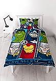 "Disney Marvel Avengers – Set copripiumino singolo""Tech – Repeat Print design"