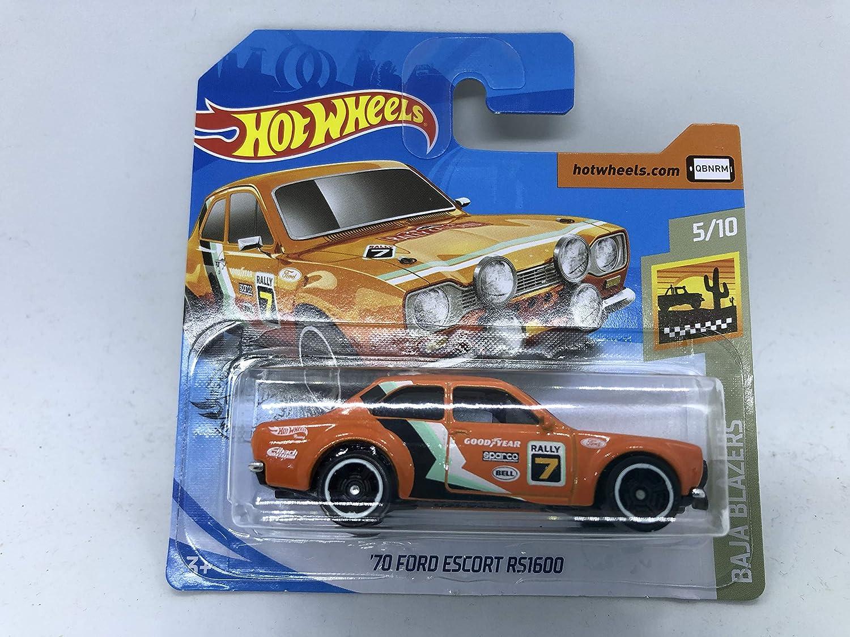 Hot Wheels '70 Ford Escort RS1600 Orange 2020 5//10 Baja Blazers NEW Hotwheels
