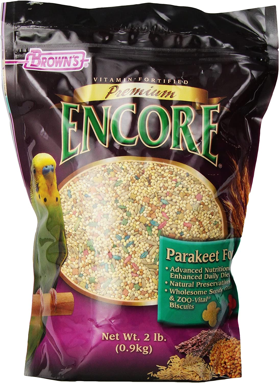 F.M. Brown'S Encore Parakeet Food, 2-Pound