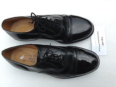 Grade One Black Parade Shoes Size 12 L Service Shoe