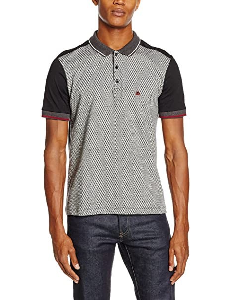 Merc of London Rishton, Polo para Hombre, Negro (Black), S: Amazon ...