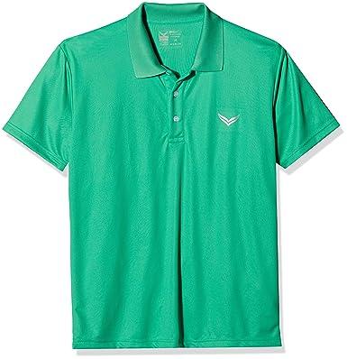 Trigema 544601 Polo, Verde (Green 156), Large para Mujer: Amazon ...