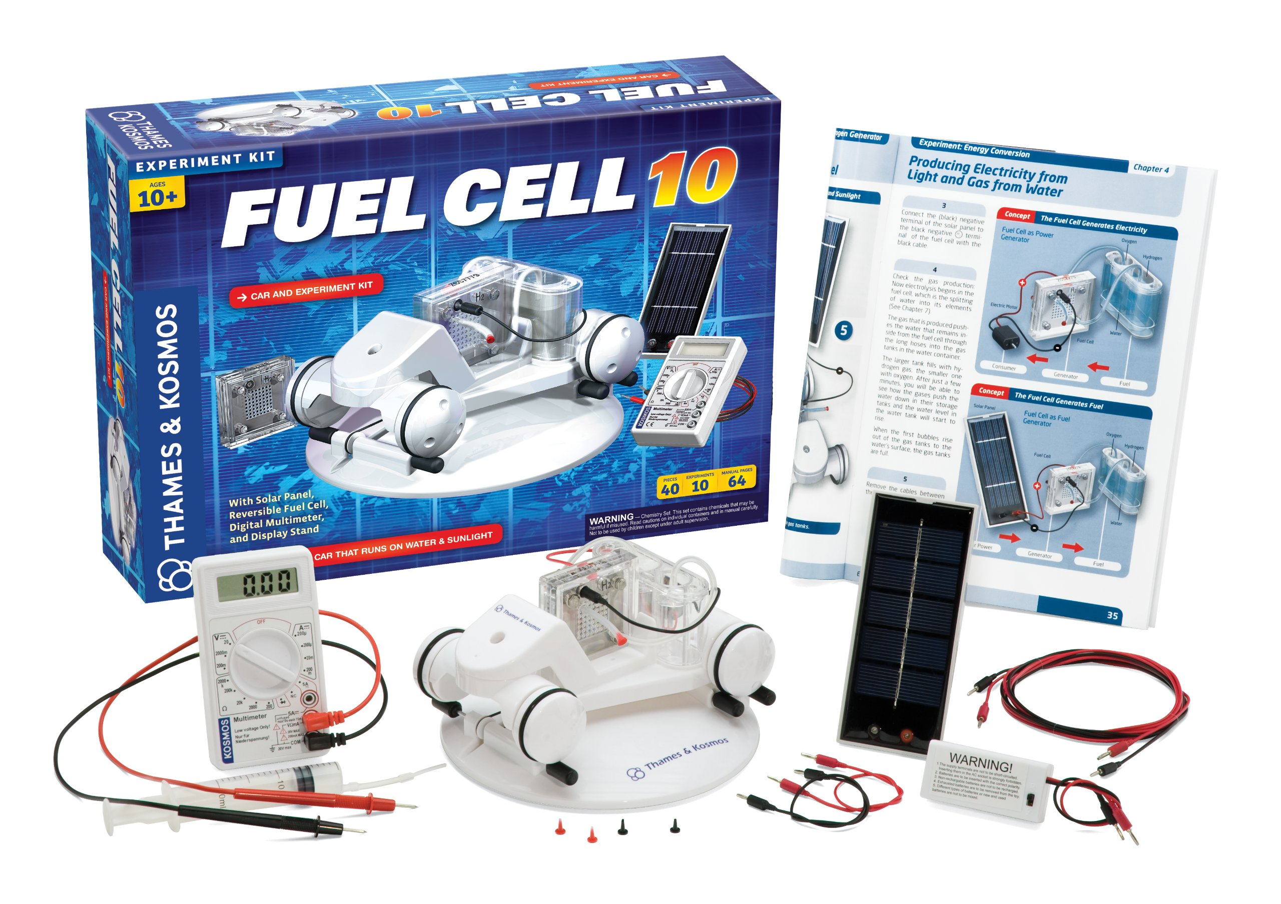 Thames & Kosmos Alternative Energy and Environmental Science Fuel Cell 10 by Thames & Kosmos (Image #1)