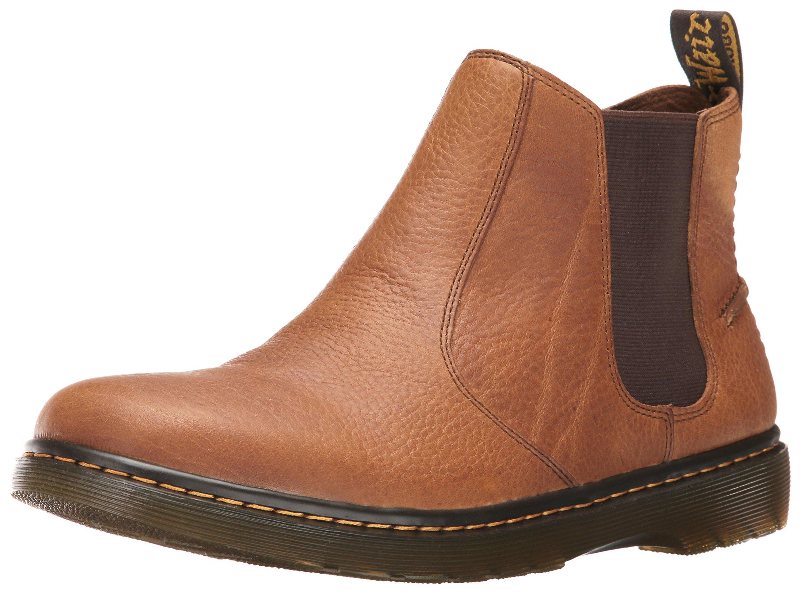Dr. Martens Men's Lyme Chelsea Boot, Tan, 9 UK/10 M US by Dr. Martens