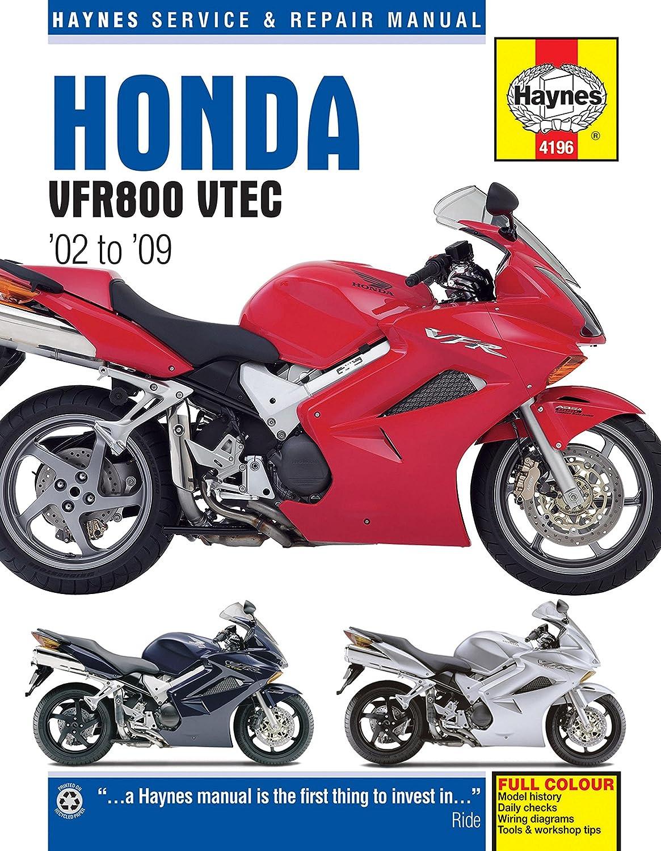 Honda VFR 800 VFR800 Repair Manual Haynes Service Manual Workshop Manual  2002-2009: Amazon.co.uk: Car & Motorbike