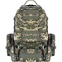 Cvlife Outdoor 50L Military Rucksacks Tactical Backpack
