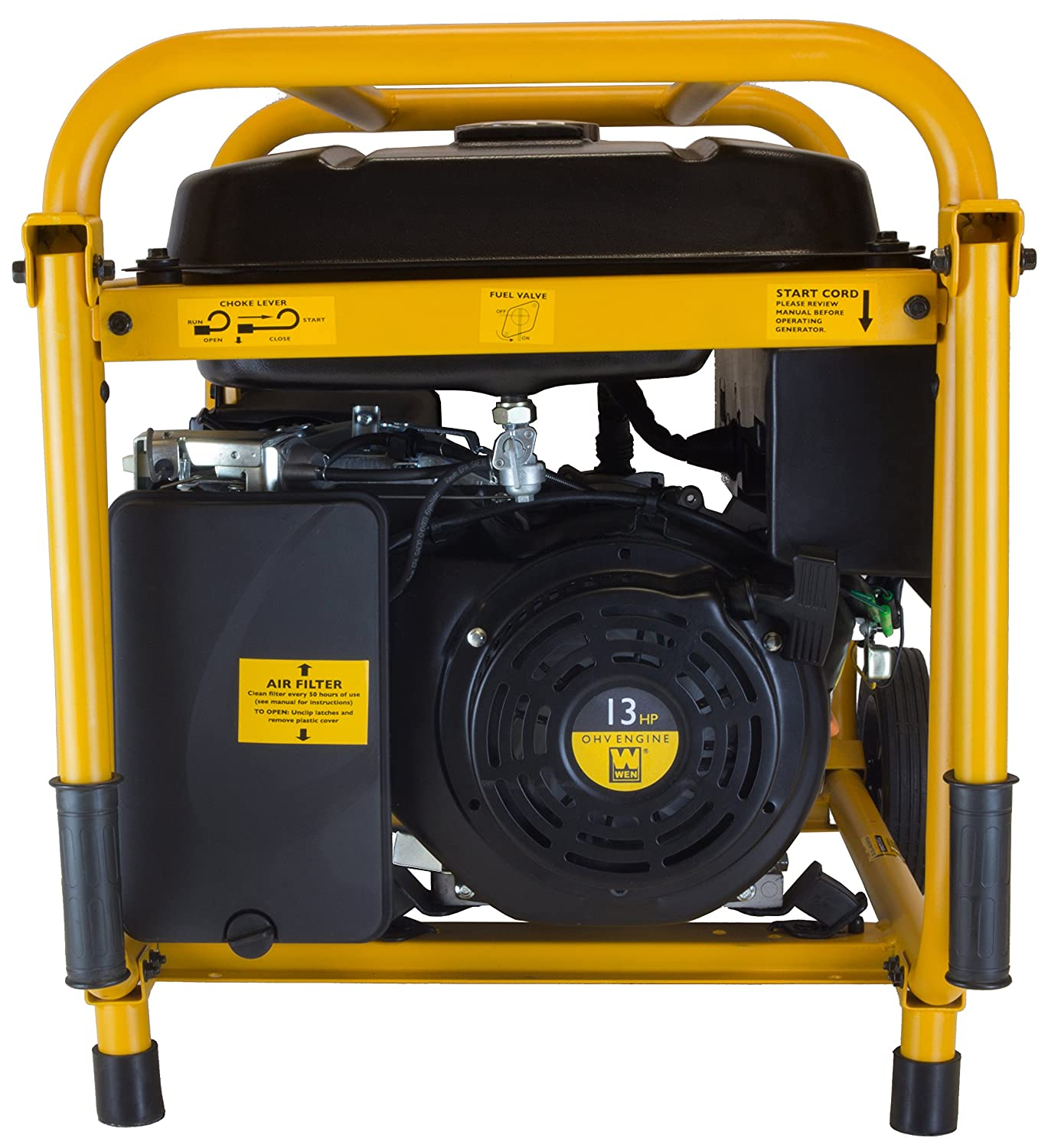 Amazon.com : WEN 56551, 5000 Running Watts/5500 Starting Watts, Gas Powered  Portable Generator : Garden & Outdoor