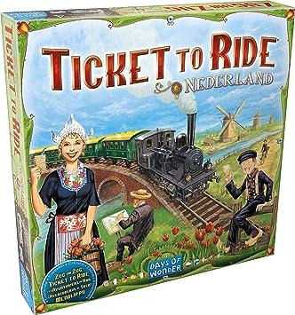 Days of Wonder - Aventureros al Tren - Paises Bajos: Amazon.es: Juguetes y juegos