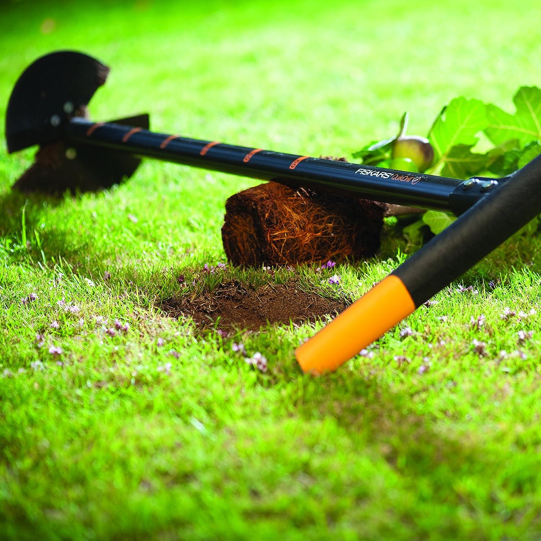 Fiskars Taladro manual Talla: S 1000636 QuikDrill Negro//Naranja Agujeros de hasta 10 cm de /Ø