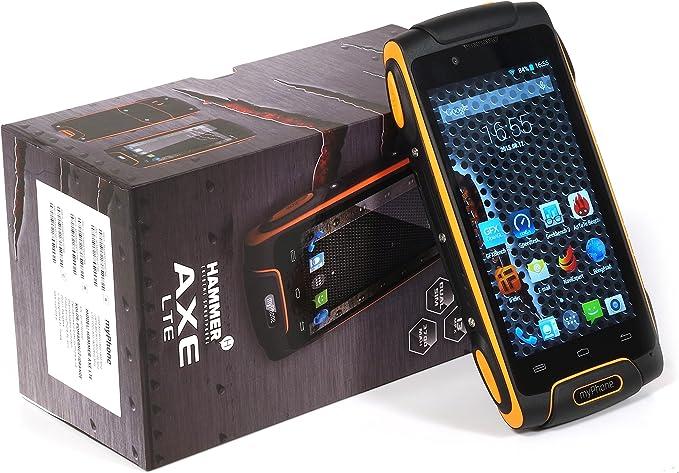 myPhone Smartphone Hammer AXE-LTE 16GB Orange: Amazon.es: Electrónica