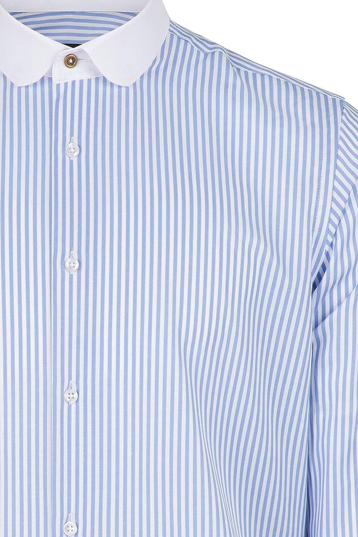 GULLIVER Toddler Boy T-Shirt Short Sleeve Top Baby Striped White Blue Cotton Summer Marine 9-24 Months