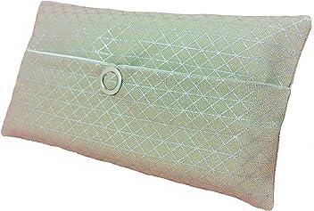 Taschentücher Tasche silber Geometrie Dreieck Design Adventskalender Befüllung Wichtelgeschenk Mitbringsel Give away Mitarbeiter Weihnachten