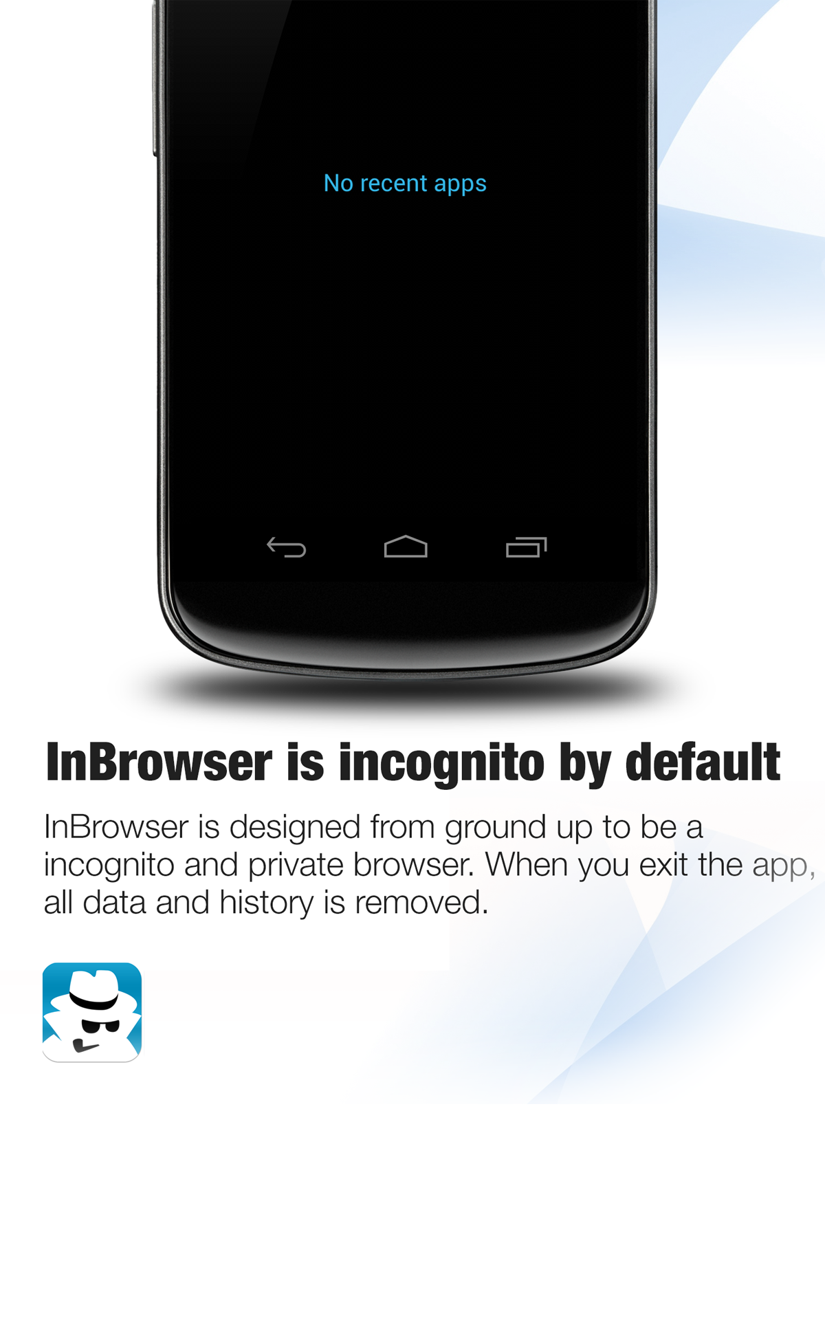 InBrowser - Incognito/Private Android Browsing: Amazon.es: Appstore para Android