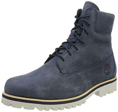 af33856e Amazon.com: Timberland Men's Chilmark 6 Inch Leather Boots, Blue ...