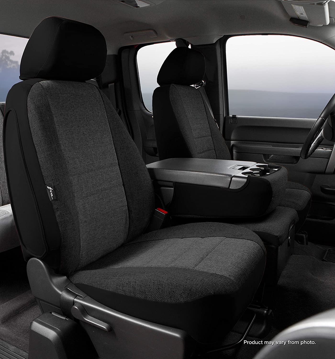 Tweed Split Seat 40//20//40 Custom Fit Front Seat Cover FIA OE38-36 Charc Charcoal