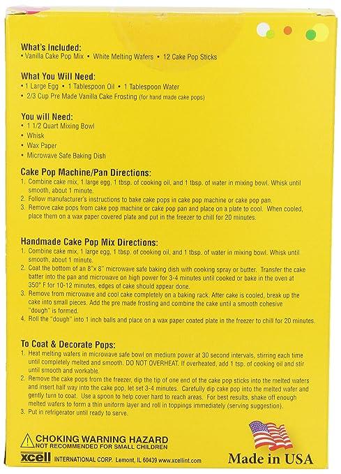 Amazon Dean Jacobs Cake Pop Kit Vanilla
