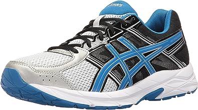 ASICS - Zapatillas de Running para Hombre Thunder Blue/White/Black, Color Plateado, Talla 39 EU: Amazon.es: Zapatos y complementos