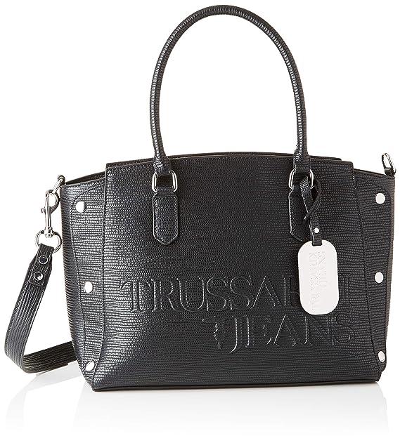 Trussardi Jeans 75B00677 9Y099999 BORSA Donna  Amazon.it  Scarpe e borse 468f8f80745