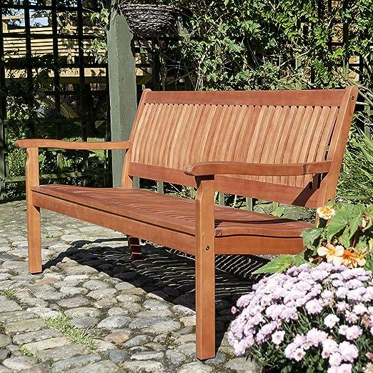 Rowlinson Willington Bench 1 5m Brown Amazon Co Uk Garden Outdoors