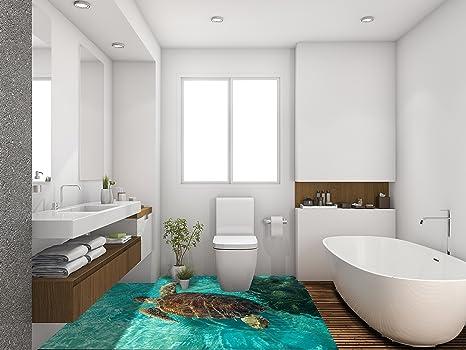 Piastrelle Da Parete Bagno : Ruvitex d rivestimento parete pavimento bagno vinile pvc tappeto