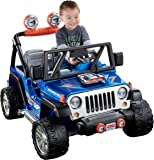 Power Wheels Hot Wheels Jeep Wrangler, Blue (12V)