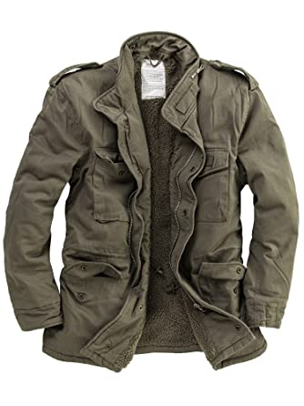 Delta Industries Herren M65 Vintage US Fieldjacket Paratrooper