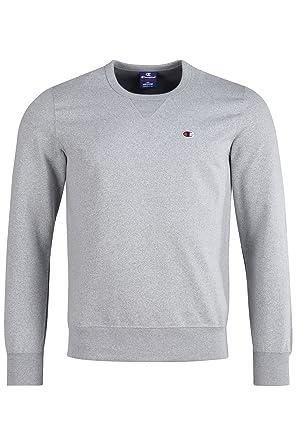 f7f39a7a Champion Men's Crewneck Sweatshirt-C-Logo: Amazon.co.uk: Clothing
