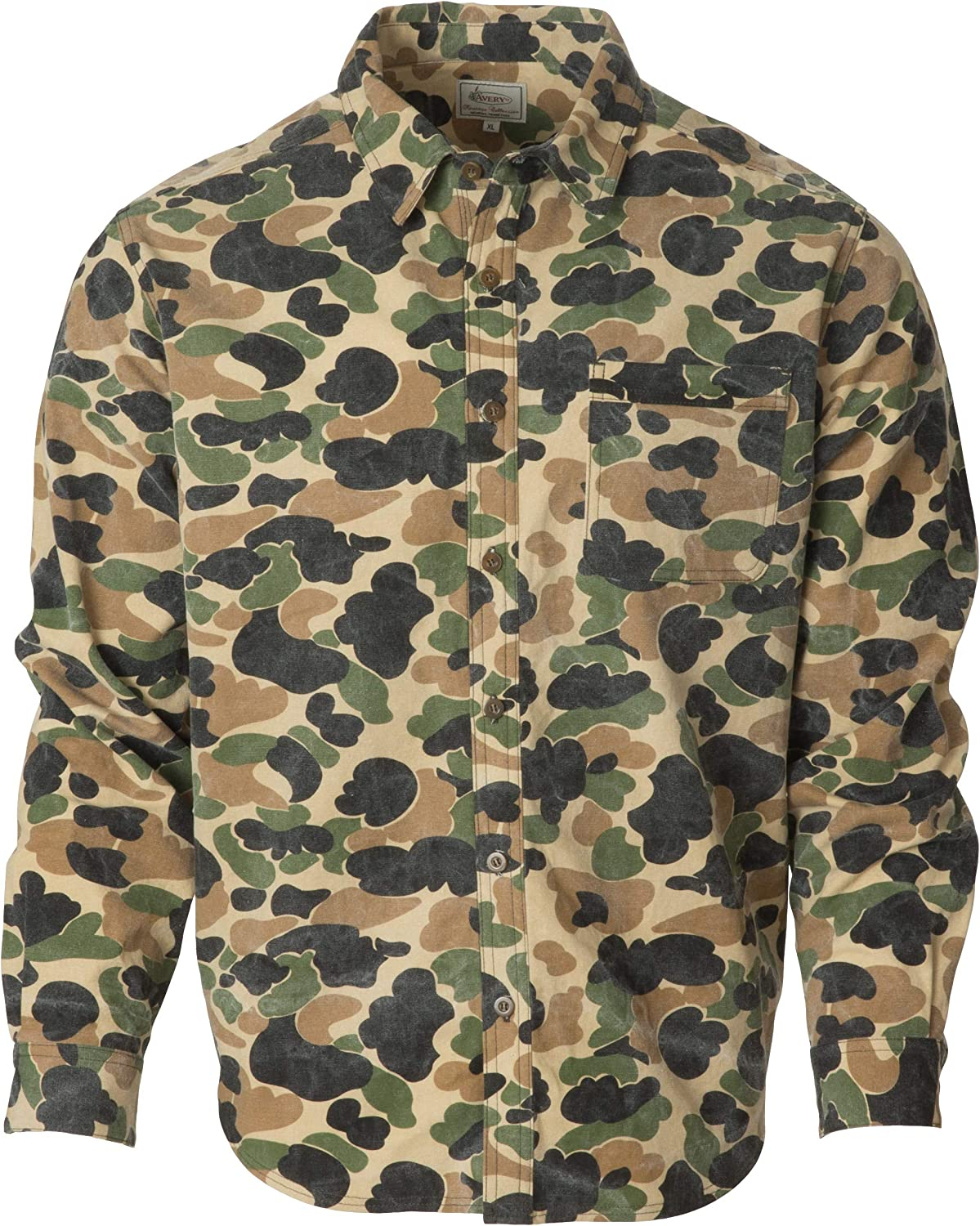 Avery Outdoors Heritage Collection Chamois Shirt Old School Camo