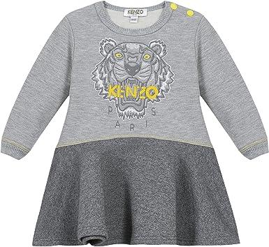 Robe Patineuse Kenzo Kids Tigre Gris Bebe Amazon Fr Vetements Et Accessoires