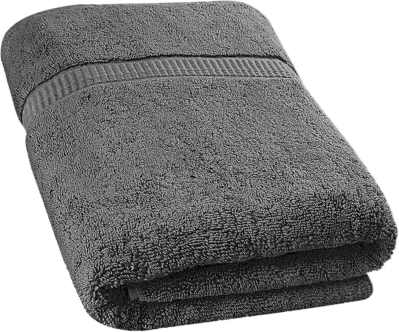 Utopia Towels - Toallas de baño Grandes (90 x 180 cm) (Gris, 1)