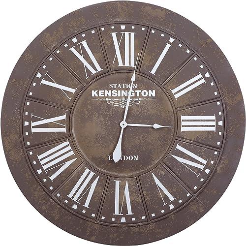 Yosemite Home Decor Grey Circular Wall Clock