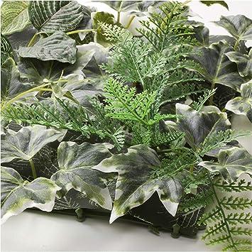 IKEA 103.654.19 Fejka - Planta Artificial para Pared, Interior y Exterior, Color Verde: Amazon.es: Jardín
