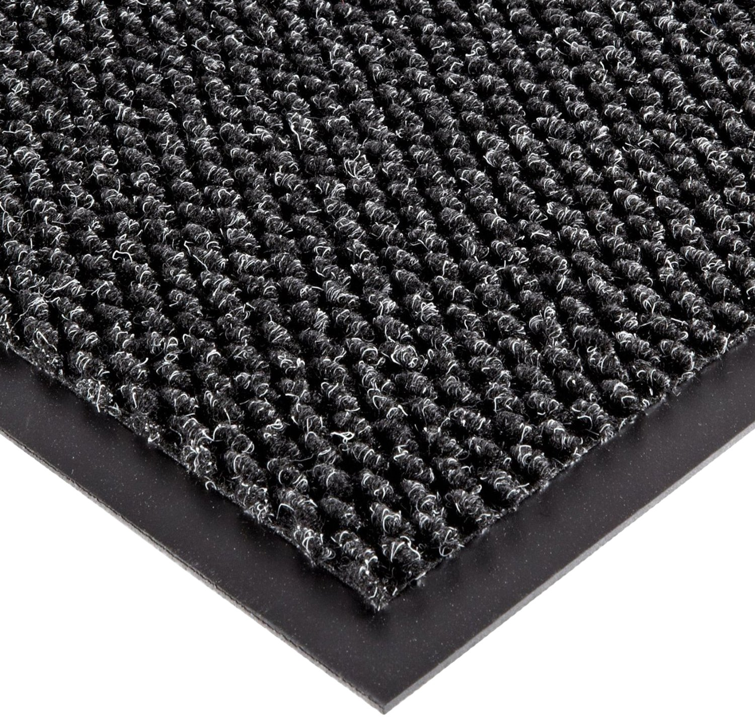 SUPERIOR MANUFACTURING GROUP 136S0035CH Entrance Matting 3 Ft x 5 Ft Charcoal Polynib