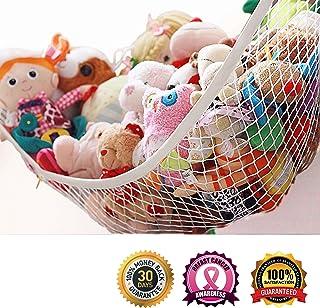 miniowls storage hammock xl toy organizer  also  es in large  de cluttering solution clippasafe toy hammock  amazon ca  baby  rh   amazon ca