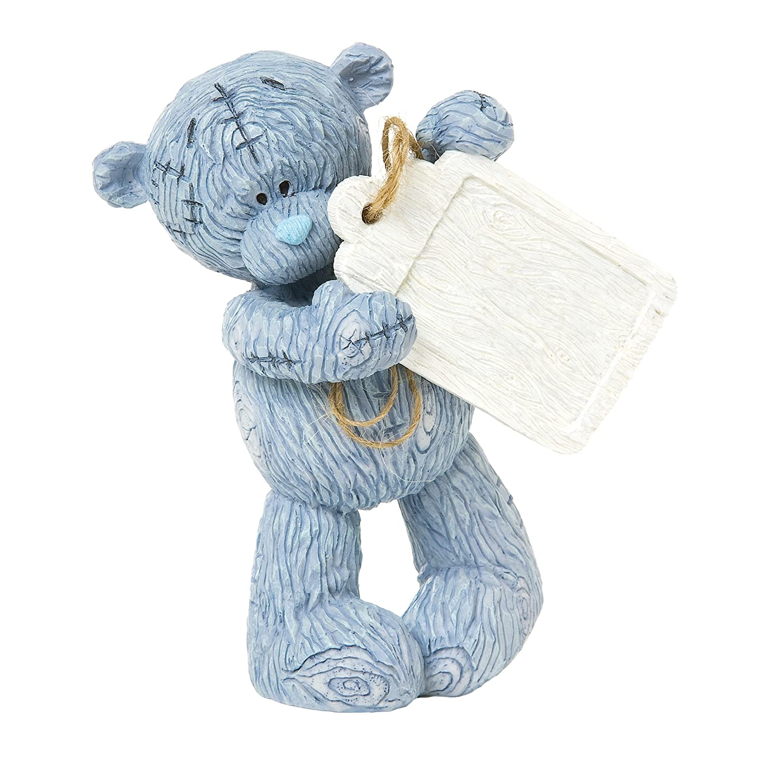 TATTY TEDDY BEAR FIGURINE LASTING IMPRESSION HOLDING GIFT PRESENT COLLECTABLE