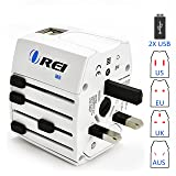 Universal Travel Adapter OREI All in One