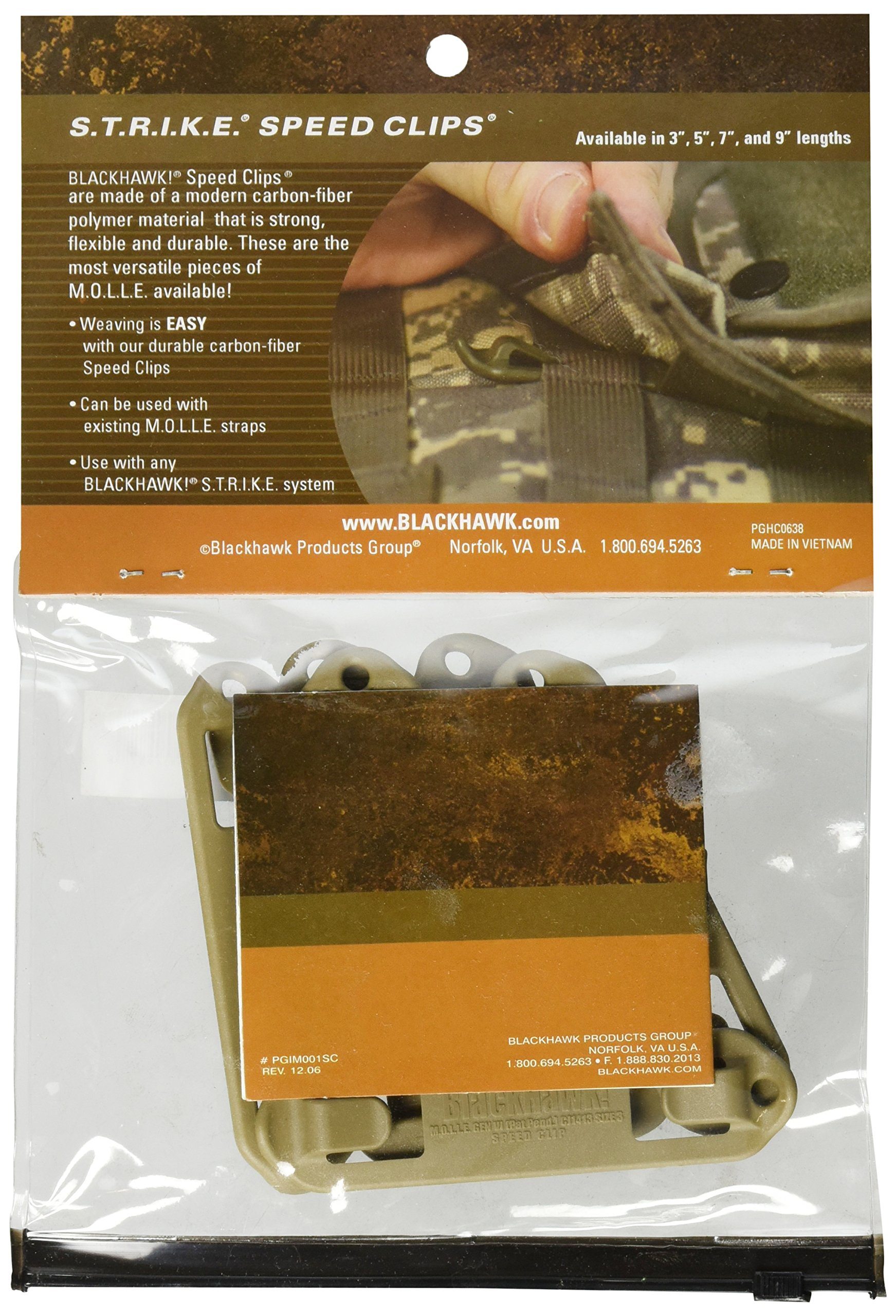 BLACKHAWK Speed Clips 6 Pack 3 Coyote Tan product image