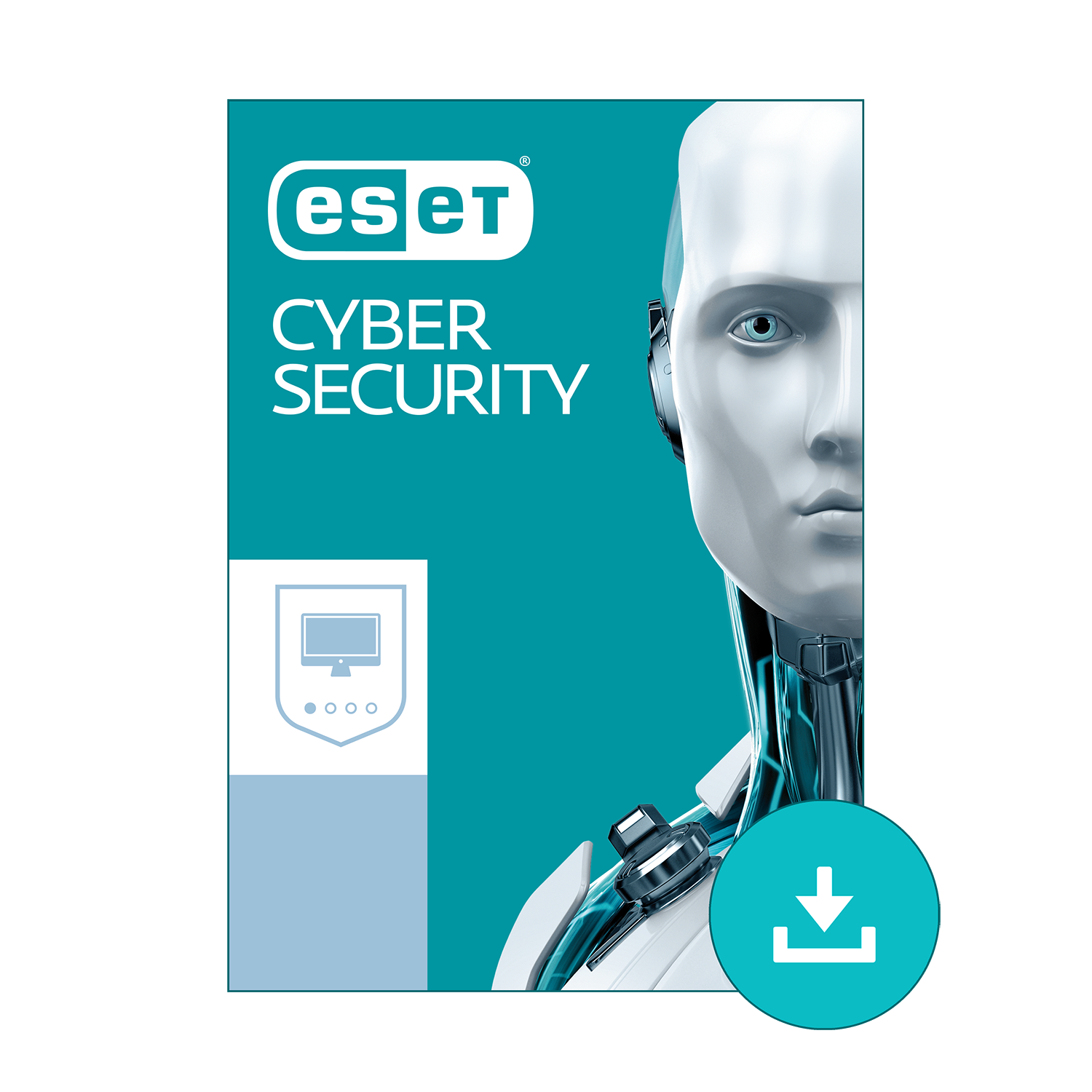 ESET Cyber Security - Basic Antivirus for Mac 2019 | 1 Device & 1 Year | Official Download with License (Best Antivirus App For Mac)