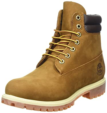 Timberland 6 in Classic Boot_6 in Double Collar Boot, Herren Kurzschaft  Stiefel, Braun (