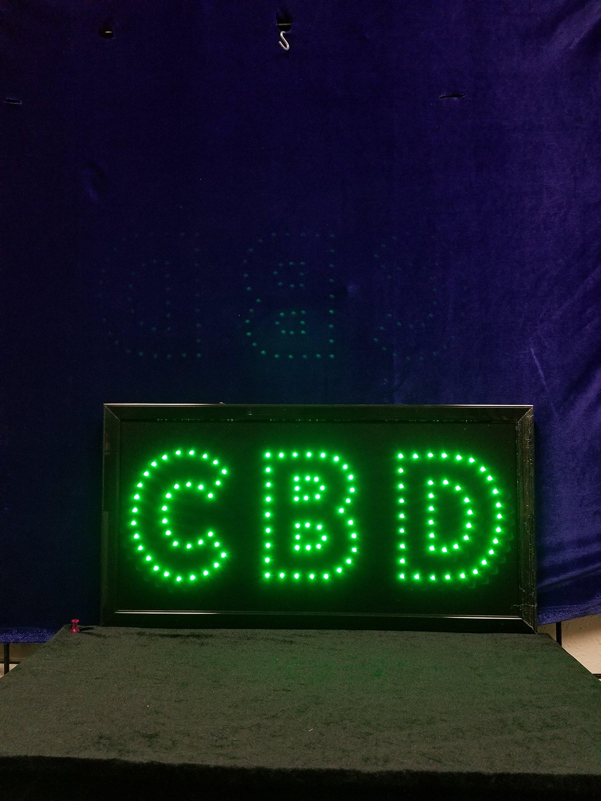 CBD Sign 2 Pack''(L) X10''(W) X 1''(H) LEDUSA